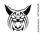 bobcat logo | Shutterstock .eps vector #437463628