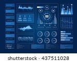 human user display | Shutterstock . vector #437511028