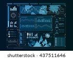 human user display | Shutterstock . vector #437511646