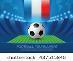 football championship tournament | Shutterstock .eps vector #437515840