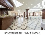 wedding hall or other function... | Shutterstock . vector #437546914