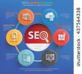seo development info graphic...