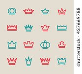 royal vector graphic | Shutterstock .eps vector #437669788