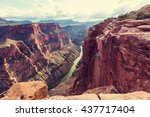 picturesque landscapes of the... | Shutterstock . vector #437717404