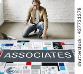 Small photo of Associates Association Company Organization Concept