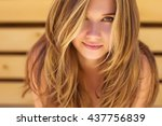 beautiful woman | Shutterstock . vector #437756839
