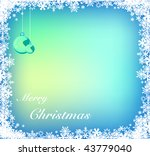 vector background for christmas | Shutterstock .eps vector #43779040