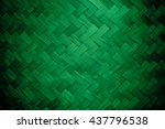 Green Color Bamboo Grass Woven...