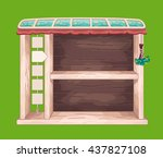 game wooden shelf window