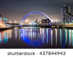 Glasgow Clyde Arc Bridge Skyline