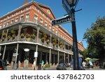 jackson square new orleans   Shutterstock . vector #437862703