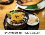 Uni  Sea Urchin Rice Bowl  ...