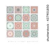 sacred geometry. set of minimal ...   Shutterstock .eps vector #437901850