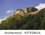 stirling  scotland   august 27  ... | Shutterstock . vector #437928616