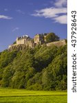 stirling  scotland   august 27  ... | Shutterstock . vector #437928643