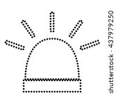 police single sign | Shutterstock .eps vector #437979250