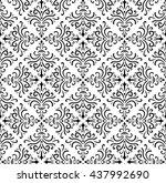 pattern damascus | Shutterstock .eps vector #437992690