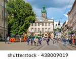 lviv  ukraine   may 26  2016 ... | Shutterstock . vector #438009019
