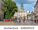 lviv  ukraine   may 26  2016 ... | Shutterstock . vector #438009019