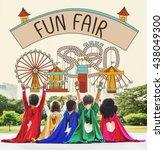 Small photo of Fun Fair Amusement Enjoyment Happiness Joyful Concept