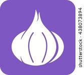garlic   Shutterstock .eps vector #438073894