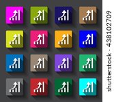 graph icon jpg | Shutterstock .eps vector #438102709