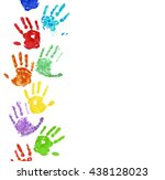Collection of colorful hand...
