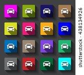 car icon | Shutterstock .eps vector #438134926