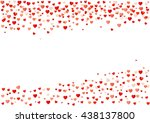 abstract heart background | Shutterstock .eps vector #438137800