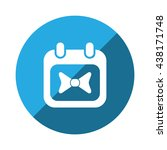 calendar icon | Shutterstock .eps vector #438171748