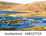 Lake Umayo near Sillustani ruins, Peru