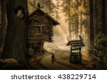 Fairy Witch House Beside The...