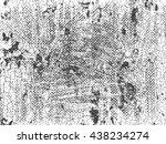 distress  dirt texture . simply ... | Shutterstock .eps vector #438234274