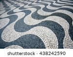 Detail Of Pavement At Rossio...