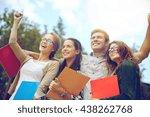 education  friendship  success... | Shutterstock . vector #438262768