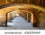 archways of fort jefferson | Shutterstock . vector #438339469