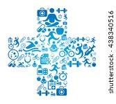 health concept illustration   Shutterstock .eps vector #438340516