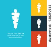 vector illustration of carrot...
