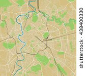 rome vector map ultra detailed... | Shutterstock .eps vector #438400330