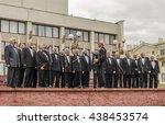 minsk  belarus   october 11 ... | Shutterstock . vector #438453574