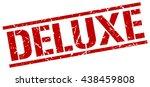deluxe stamp.stamp.sign.deluxe. | Shutterstock .eps vector #438459808