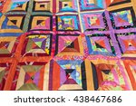 Color Patchwork Quilt. Part Of...