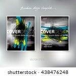 vector brochure or booklet...   Shutterstock .eps vector #438476248
