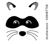 raccoon | Shutterstock .eps vector #438487708