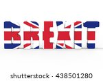 british referendum brexit vote...   Shutterstock . vector #438501280
