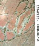 crack floor concrete texture... | Shutterstock . vector #438539818