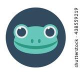 frog vector icon | Shutterstock .eps vector #438559219
