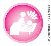 spa icon set | Shutterstock .eps vector #438575896