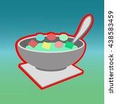 breakfast | Shutterstock .eps vector #438583459