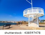 small sightseeing tower close... | Shutterstock . vector #438597478